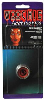 Red Mask Cover Carded Costume Accessory