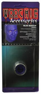 Blue Mask Cover Carded Costume Accessory
