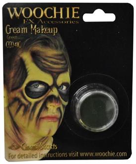Green Mask Cover Carded Costume Accessory