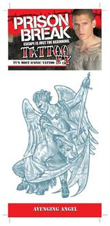 Prison Break Avenging Angel Temporary Tattoo