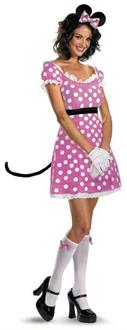 Minnie Mouse Sassy Pink Costume