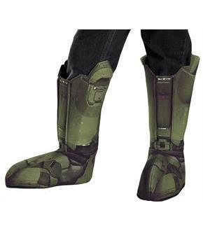 Master Chief Boot Covers Child