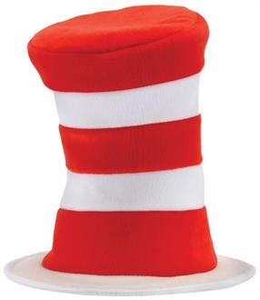 Cat In The Hat Deluxe Adult Hat