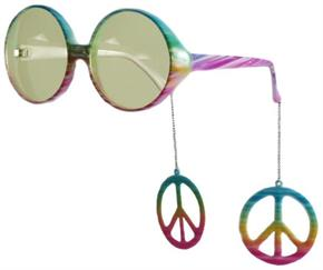 Glasses Peace Danglers