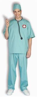Surgical Scrubs Costume
