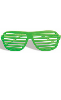 Glasses Slot Neon Green