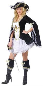 Midnight Musketeer Adult Costume