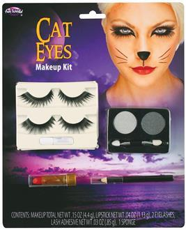 Cat Eye M/U Kit With Lashes