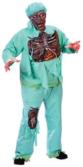 Zombie Doctor Plus Size Costume
