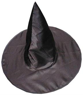 Deluxe Satin Witch Hat