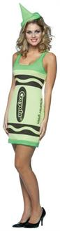 Crayola Green Tank Dress