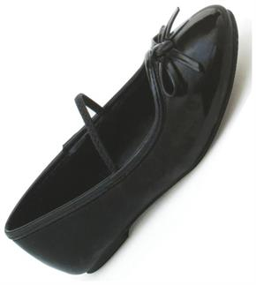 Ballet Flat Black Shoes