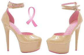 Curissa Cancer Awareness Shoes