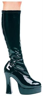 Chacha Black Boots