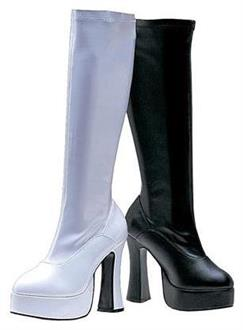 Chacha White Boots
