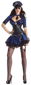 Sultry Officer Body Shaper Costume