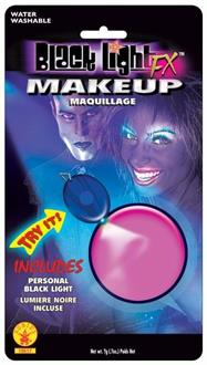 Blacklight Makeup Pink Glow