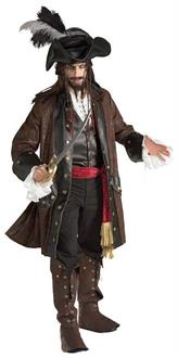 Pirate Carribean Adult Costume