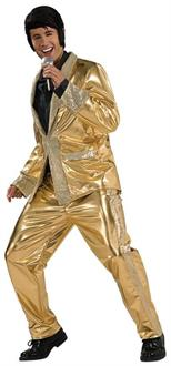 Gold Lame Suit Grand Heritage Costume