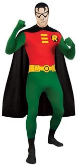 Robin Skin Suit Adult Costume