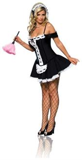 French Maid Dust Bunny Adult Costume