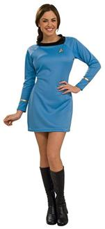 Star Trek Classic Blue Dress Costume
