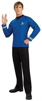 Star Trek Blue Movie Deluxe Shirt Costume
