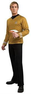 Star Trek Movie Deluxe Shirt Gold Costume