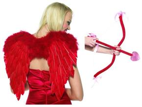 Cupid Kit, Bow, Arrow & Wings Accessory