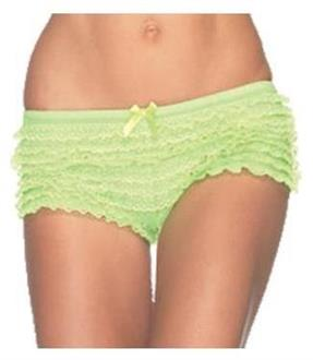 Briefs Ruffle Neon Green Panty