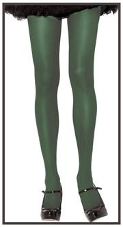 Tights Opaque Plus Kelly Green
