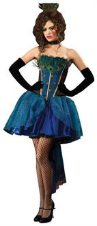 Peacock Princess Deluxe Costume