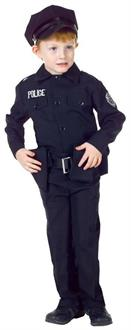Policeman Set Child Costume