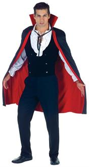 Cape Black-Red Costume