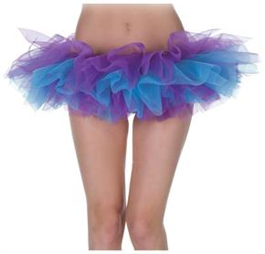 Tutu Blue And Purple Skirt