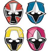 Power Rangers Ninja Steel Paper Masks(8)