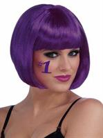 Purple Adult Bob Wig