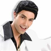 Disco Dude Black Wig