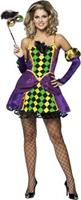 Mardi Gras Queen Adult Costume