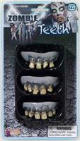 3 Pack Zombie Teeth Adult