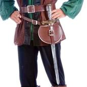Medieval Adult Belt and Sword Set