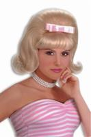 50's Bouffant Blonde Wig