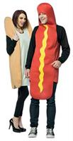 Hot Dog & Bun Couples Costume