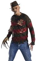 A Nightmare on Elm Street Freddy Burning Flesh Adult Sweater