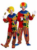 Big Top Clown Unisex Adult Costume