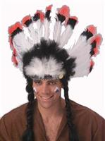 Native American Adult Deluxe Headdress