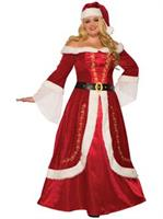Premium Mrs. Claus Adult Costume