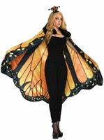 Womens Monarch Butterfly Cape