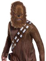 Star Wars Classic Adult Chewbacca Mask With Fur