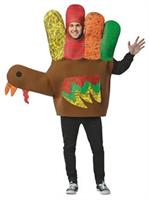 Hand Turkey Adult Costume